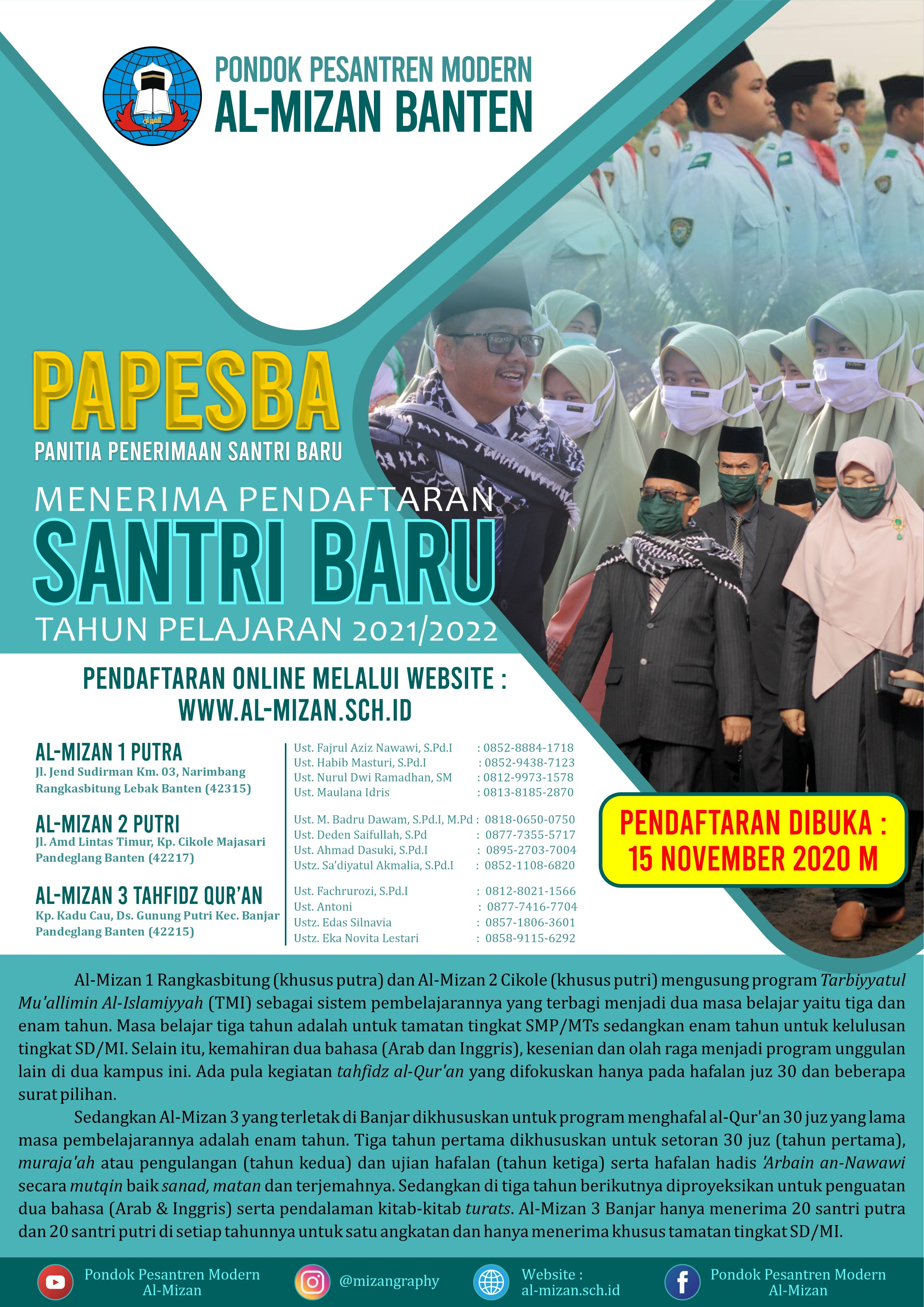 Flayer papesba 2